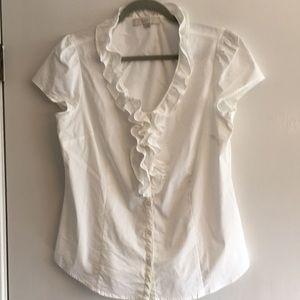 Ruffle dress shirt